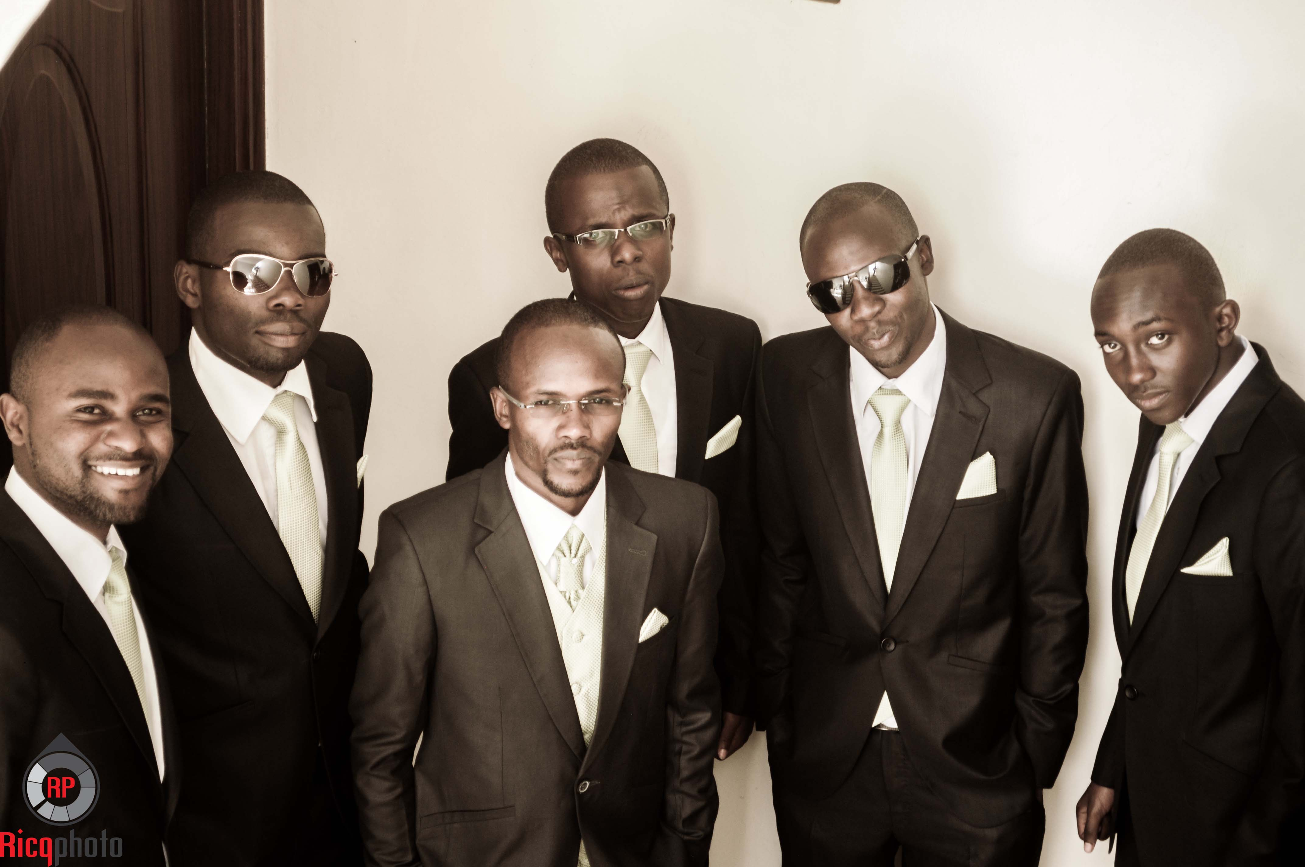 talk of stardom.... the men ready to hit the road for the venue..
