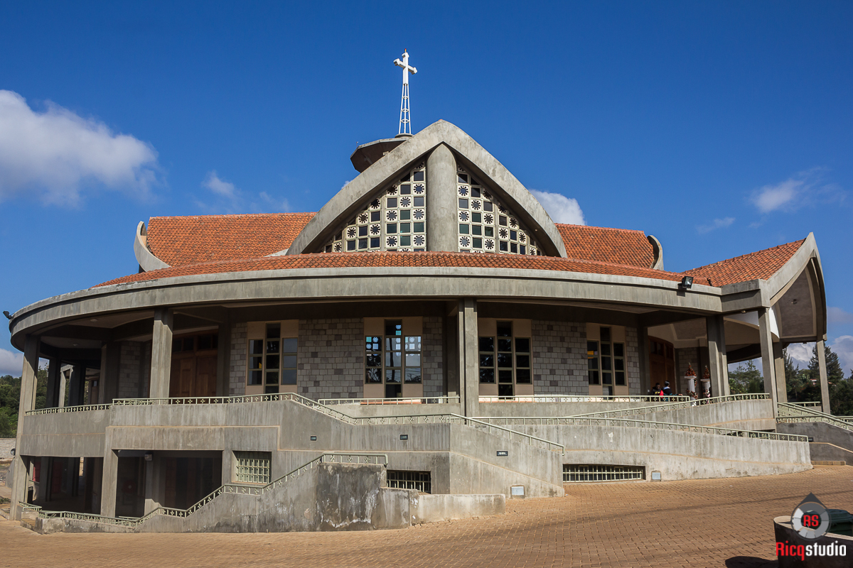 The church on Kiambu road a beautiful day indeed